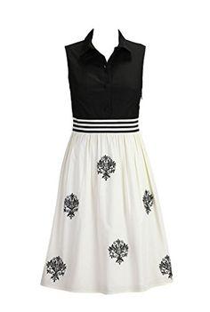 eShakti Women's Embellished black and cream poplin dress S-4 Tall Black/cream eShakti http://www.amazon.com/dp/B00KU20LS4/ref=cm_sw_r_pi_dp_kbMhub0A4172D