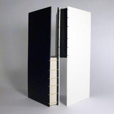 Dennis Yuen, Duotone #2. Two-needle coptic binding. #bookbinding