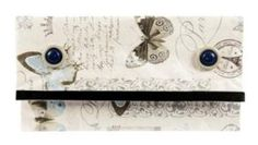 Taštička z balicího papíru / Lovely sachet made from wrapping paper