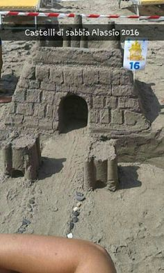 Castello di sabbia semplice 😊