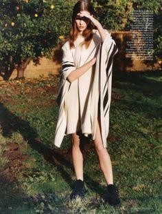 Karlie Kloss by Alasdair McLellan: Vogue UK, May 2010
