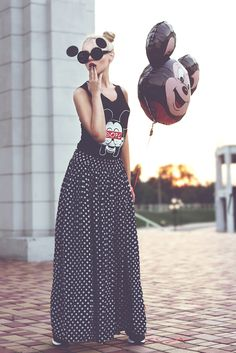 Fashion blogger Kristina Dolinskaya