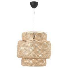 SINNERLIG Pendant lamp - bamboo, - - IKEA