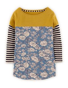 love all this print mixing! great for stash busting your knits!