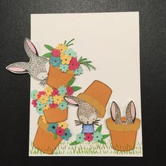 Close To My Heart February 2017 Stamp Of The Month Easter Bunny
