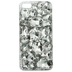 Jessie Steele iPhone Case White Rhinestones. #laylagrayce #holidaygiftshop #forher $34.00