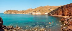 Red Beach, Santorini - 10 of the best beaches in Greece