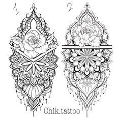 Trendy Tattoo Mandala Rose Design Tattoo Ideen – Bag World Mandala Tattoo Design, Mandala Arm Tattoo, Mandala Rose, Tattoo Designs, Mandala Flower Tattoos, Diy Tattoo, Hand Tattoo, Body Art Tattoos, New Tattoos
