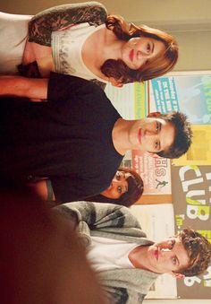 teen wolf, allison argent, scott mccall and isaac lahey