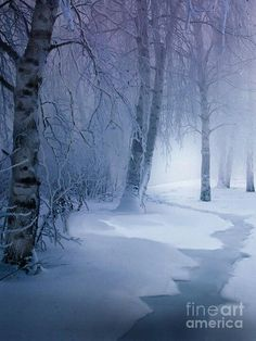 *In search of the Snow Queen!