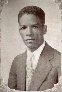 """Lucien Victor Alexis (1887-1981) who, while at Harvard, earned the nickname """"The Negro Einstein"""". After serving as a First Lieutenant in the army during WWI he became principal of the only black high school in New Orleans and wrote a book about his thermoelectric theory."""