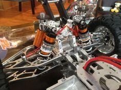 Proline powerstorke aluminum spring separator Traxxas T Maxx, Bar Stock, Rc Cars, Monster Trucks, Old Things, Spring