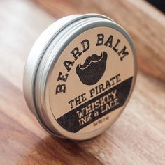 The Pirate Beard Balm Leavein beard by WhiskeyInkandLace on Etsy, $15.00