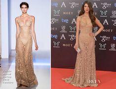 Juana Acosta In Zuhair Murad Couture – Goya Cinema Awards 2014