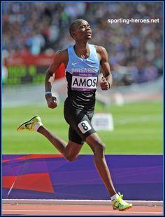 Nijel AMOS - Botswana - Silver medal at 2012 Olympic Games.