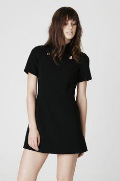 Shrimpton dress in black