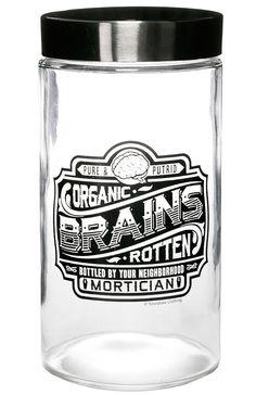 Sourpuss Apothecary Jar Brains
