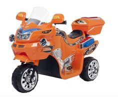 FX 3-wheel Battery Powered Ride-on Bike Boys and Girls, Colors