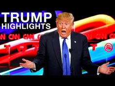 Donald Trump Republican Debate Highlights (Lowlights)  2/25/2016 - YouTube (this man is shameful, i don't think i can vote for him, i'm sorry)