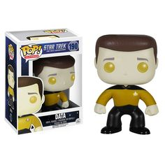 Star Trek: The Next Generation Data Pop! Vinyl Figure - Funko - Star Trek - Pop! Vinyl Figures at Entertainment Earth