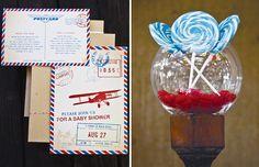 invitation and color scheme