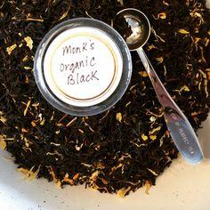 Monk's Organic Loose Leaf Black Tea