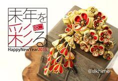 つまみ細工「春告姫」 This is a Japanese traditional crafts that use the silk, is a hair ornament was designed flowers. ●silkartHIMEKO facebookpage https://ja-jp.facebook.com/himekosilkart ●silkart HIMEKO URL http://www.himeko-silkart.com/ #tsumami #japan #handmade #art #craft #pretty #cute #hairaccessories #DIY #flowers #silk #kanzashi