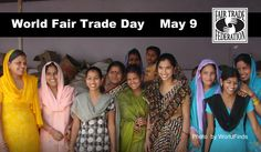 World Fair Trade Day is coming up on May 9. What will you do to make a difference on #FairTradeDay?