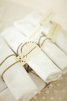all you need is love napkin tags