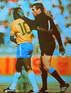 Ladislao Mazurkiewicz & Pele, Mundial de 1970