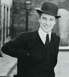 Charlie Chaplin on the set of The Kid (1921)