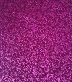 Brocade Fabric-Brocade Tonal Floral Scroll Bordeaux & Special Occasion at Joann.com