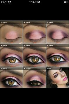 Cute, Pink, Lovely, Makeup, Girly.