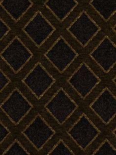 Beacon Hill Fabric 172298 Lattice Sheen Ebony