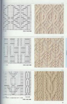 Photo from album Knitting Patterns on Yandex. Knitting Stiches, Cable Knitting, Knitting Charts, Hand Knitting, Knit Stitches, Stitch Patterns, Knitting Patterns, Crochet Patterns, Knitting Designs