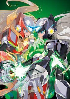 Mega Man, Zero Wallpaper, Megaman Zero, Megaman Series, Fighting Robots, Pixel Animation, Man Games, Alien Creatures, Futuristic Art