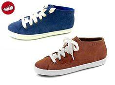 Lizette Lace Up, Sneakers Basses Femme, Bleu (400 Navy), 38 EUEsprit