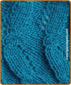 Galeria de puntos 4: Trenzas, ochos, cuerdas - Tejiendo Perú Knit Slippers Free Pattern, Knit Headband Pattern, Knitted Slippers, Knitted Headband, Knitted Hats, Cable Knitting Patterns, Knitting Stitches, Free Knitting, Baby Knitting