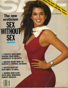 Cindy Crawford - Self Magazine, July 1988