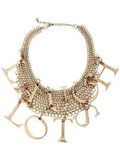 Collar con colgante Laugh Lots de ASOS #accessories #asos #collar #necklace #jewelry