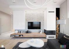 Skandynawski klimat - Duży salon - zdjęcie od KOLORUM