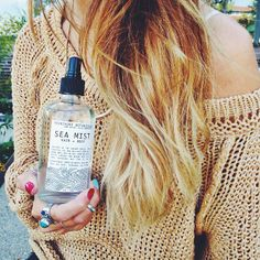 Beachy hair is the easiest way to get ready in the morning. #morningcommute