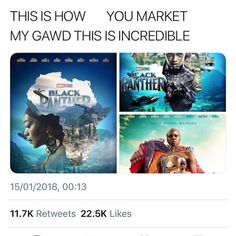 It seems in Black Panther, they did everything they could to incorporate African culture in a beautiful respectful way. Meanwhile the Thor movies shits all over norse culture and mythology and honestly, as a Norwegian, I'm just so envious! Dc Memes, Marvel Memes, Marvel Dc Comics, Marvel Avengers, Chris Evans, Johnlock, Destiel, The Villain, Marvel Cinematic Universe