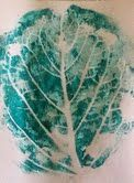 from Art Intertwine blog: Printmaking With Play Dough