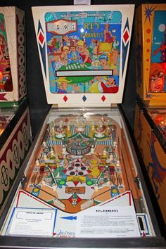 Rey de Diamantes pinball machine from 1967 made by Petaco a Spanish company in Madrid