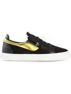 Shop Giuseppe Zanotti Design zip detail low sneakers in Companero from the world's best independent boutiques at farfetch.com. Over 1500 brands from 300 boutiques in one website.