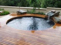 If you want to make your children happy by building a private pool for them, you can try the idea of stock tank pool. The idea of a swimming pool at an affordable cost and does not require a wide space.