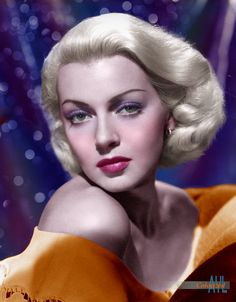 Photo colorized by Alex Lim Hollywood Photo, Old Hollywood Stars, Hollywood Icons, Old Hollywood Glamour, Hollywood Actor, Golden Age Of Hollywood, Hollywood Celebrities, Vintage Hollywood, Hollywood Actresses