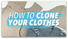 A free sewing lesson from Wendy http://sew-whats-new.com/video/how-to-create-sewing-patterns-from-your-clothes