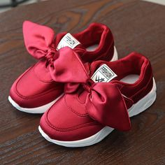 HaoChengJiaDe Kids Girls Shoes With Bow Fashion Sneaker Children Baby Girl Casual Sport Shoes Princess Cute Soft Shoes in stock - Kid Shop Global - Kids & Baby Shop Online - baby & kids clothing, toys for baby & kid Baby Sneakers, Girls Sneakers, Sneakers Fashion, Fashion Shoes, Cheap Sneakers, Fashion Jewelry, Kids Running Shoes, Kid Shoes, Girls Shoes